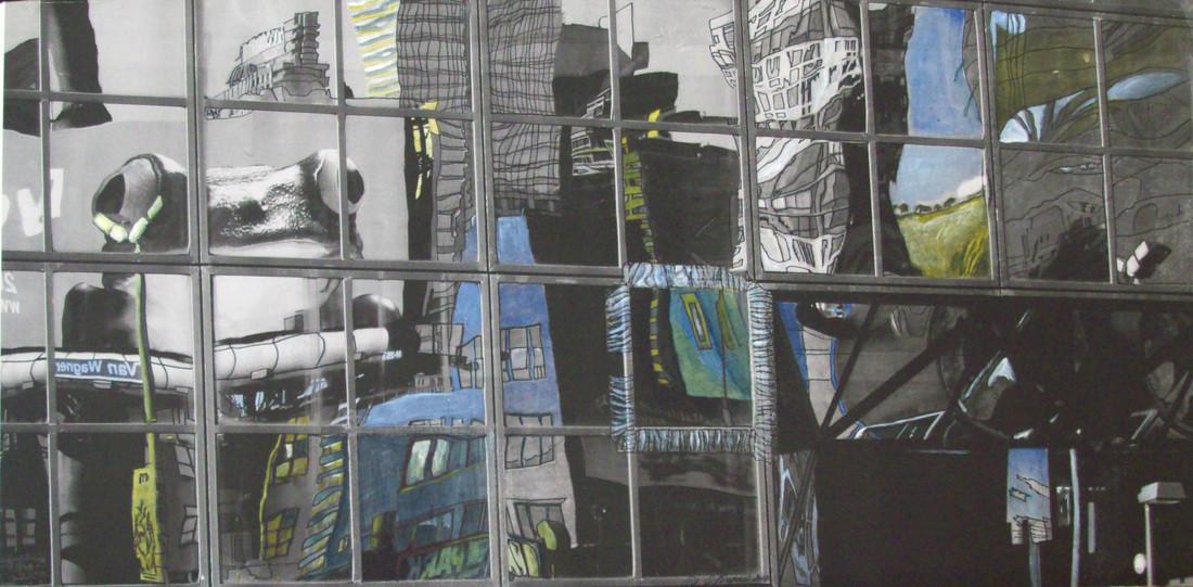 Painting_NY_Frog_Window