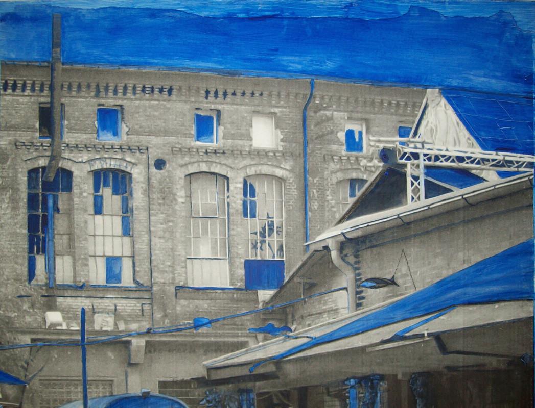 Painting_Blaues_Haus